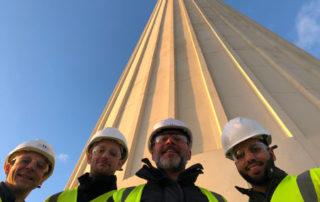 GIA team visit Battersea Power Station